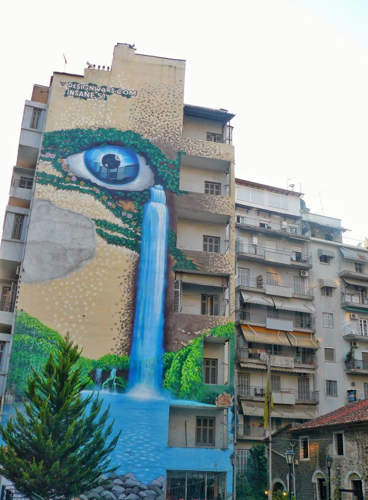 street art salonicco