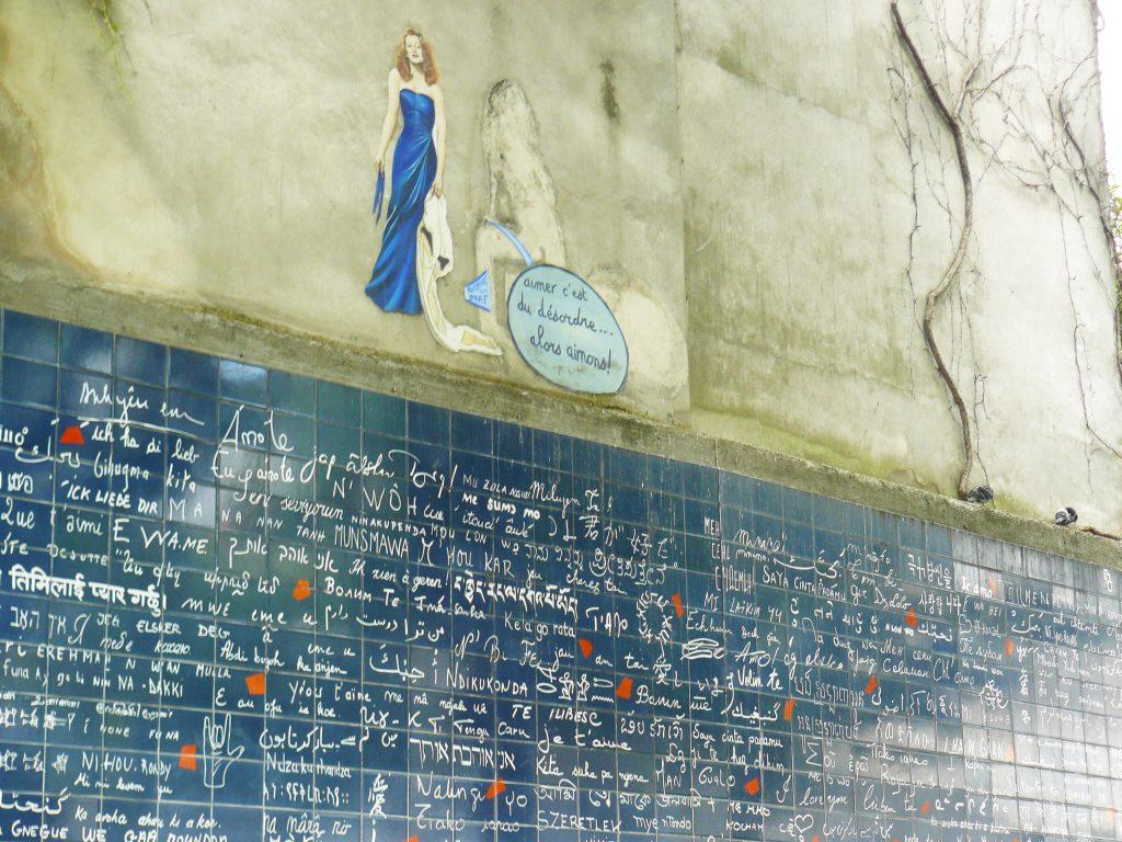 Muro del Ti amo Parigi