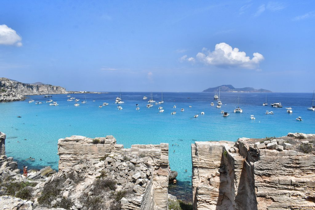spiagge più belle Favignana - Cala Rossa