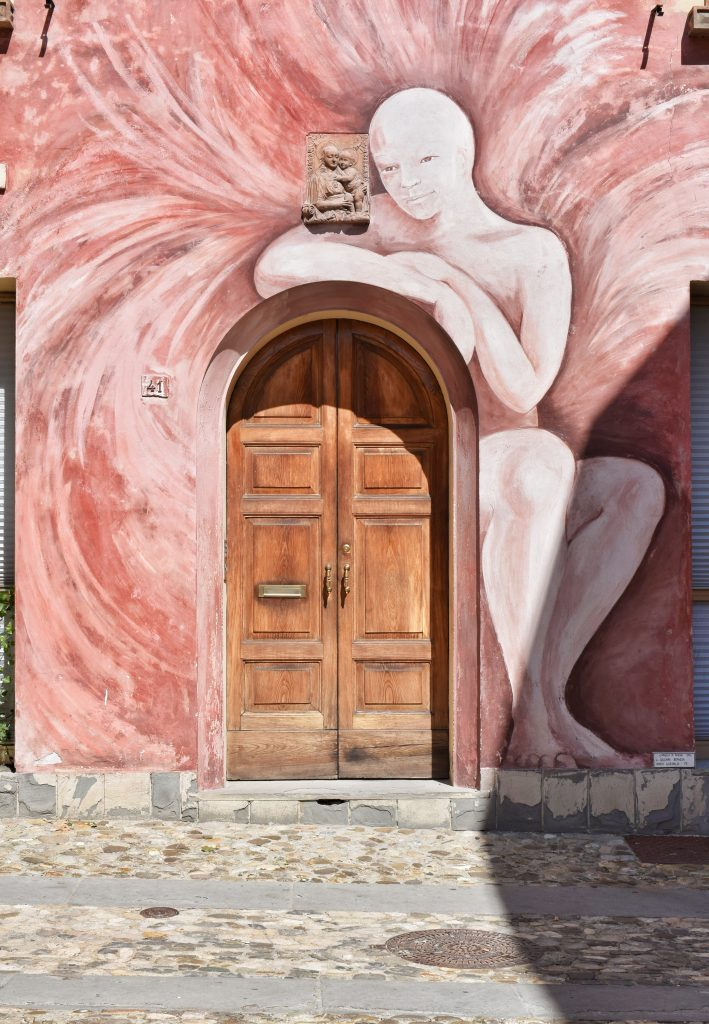 Dozza Angelo dipinto
