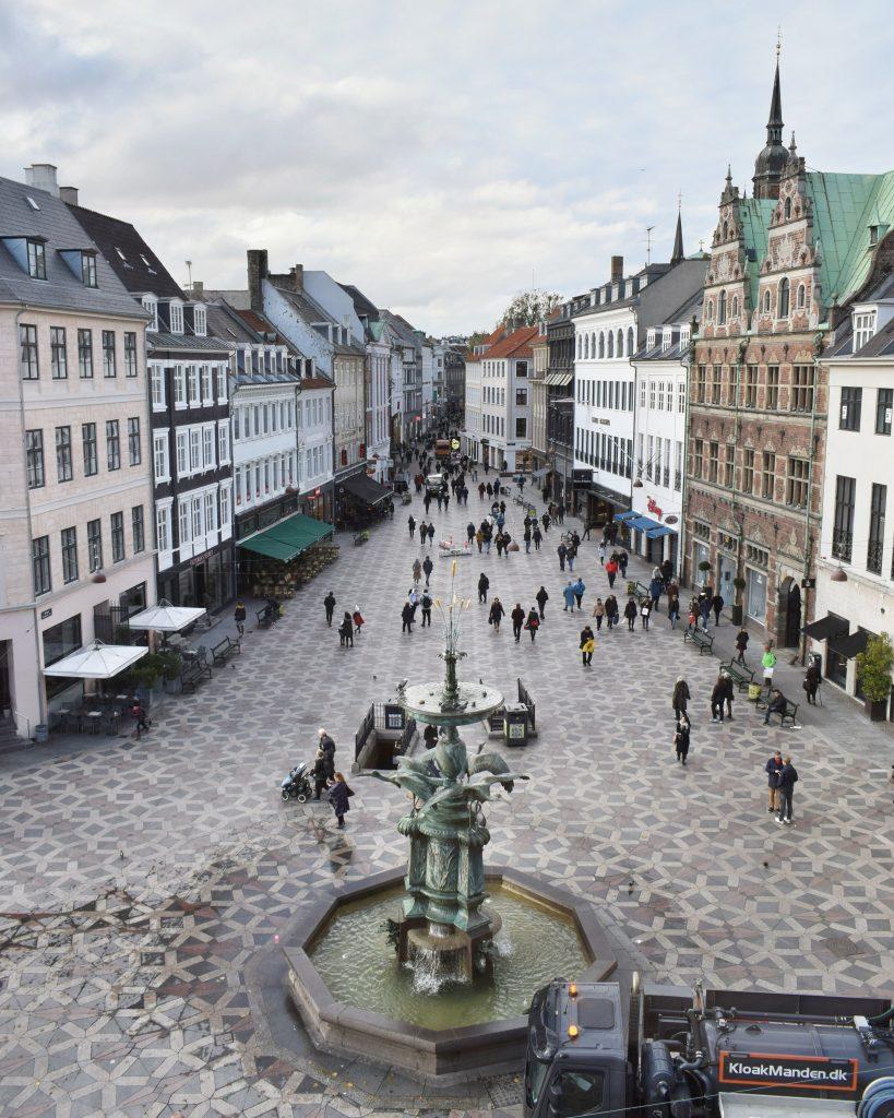 Stroget via pedonale più lunga d'Europa