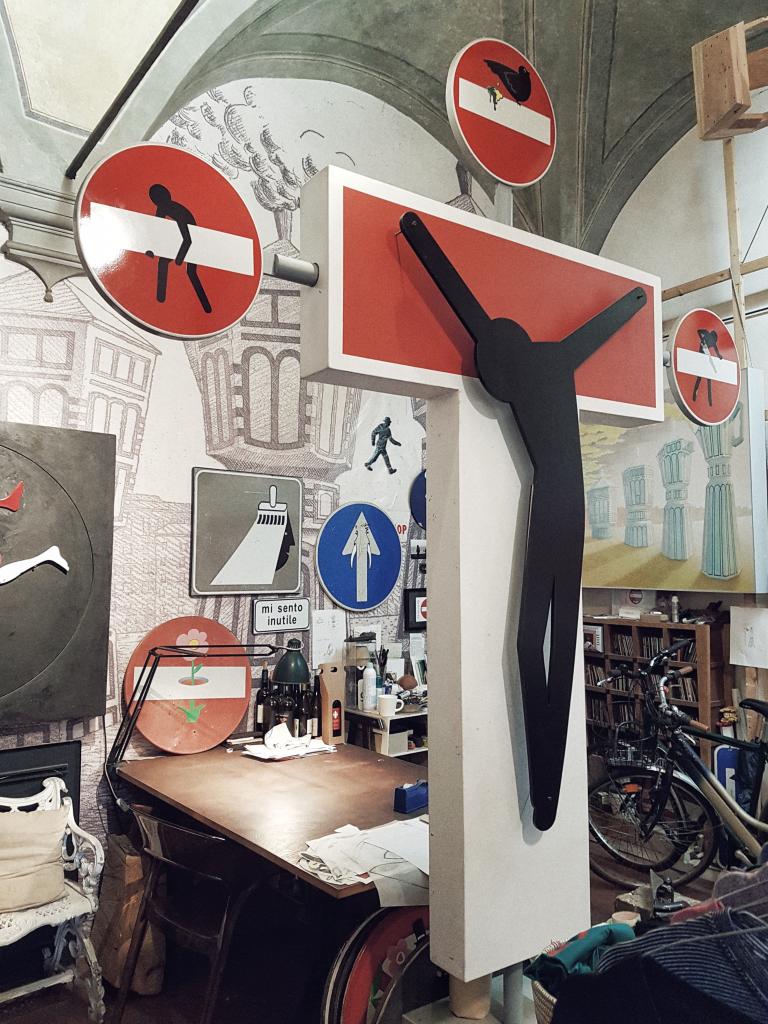 Clet Studio Firenze