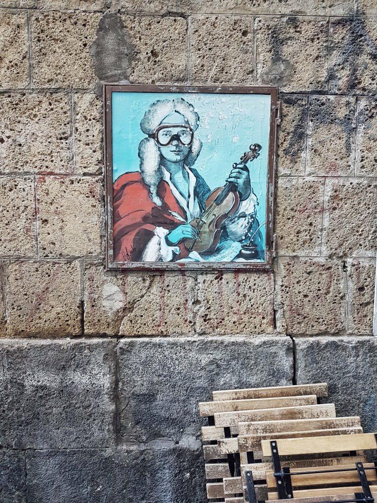 Blub street art Napoli