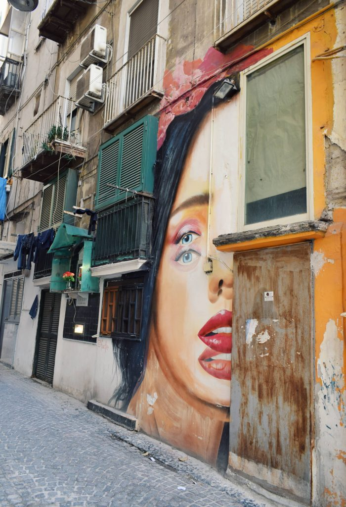 Rione sanità street art Napoli