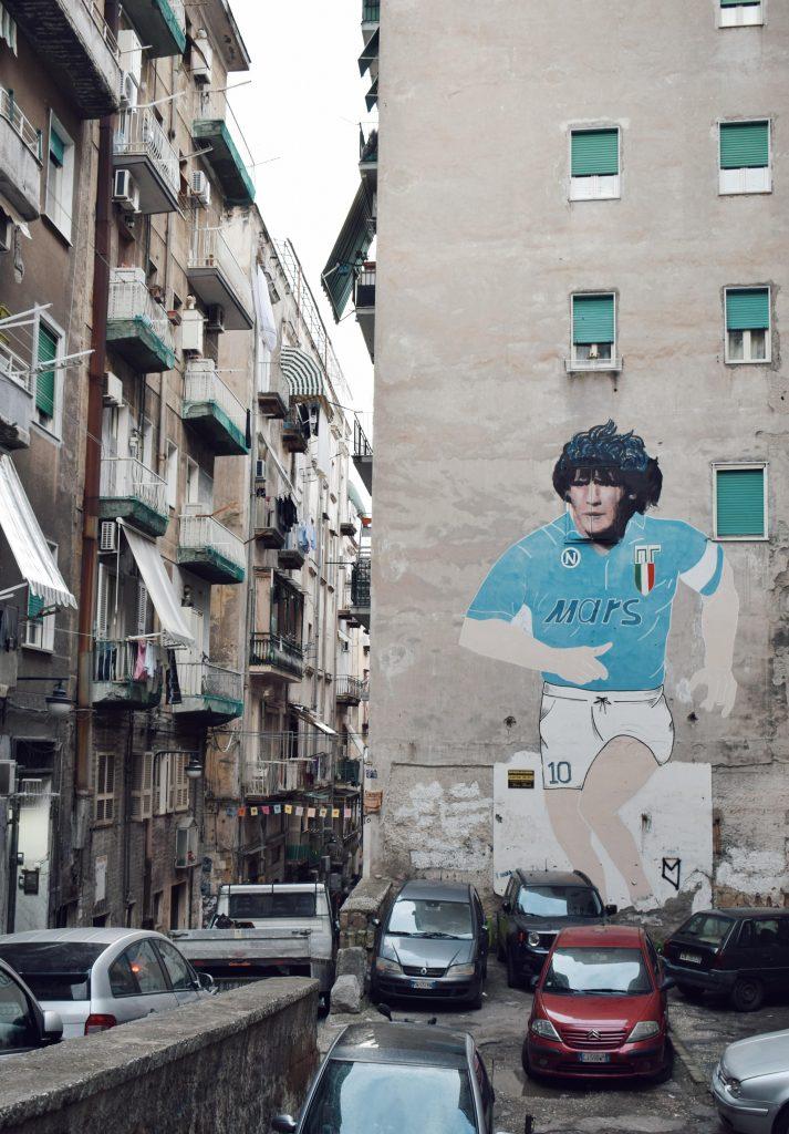 Maradona street art