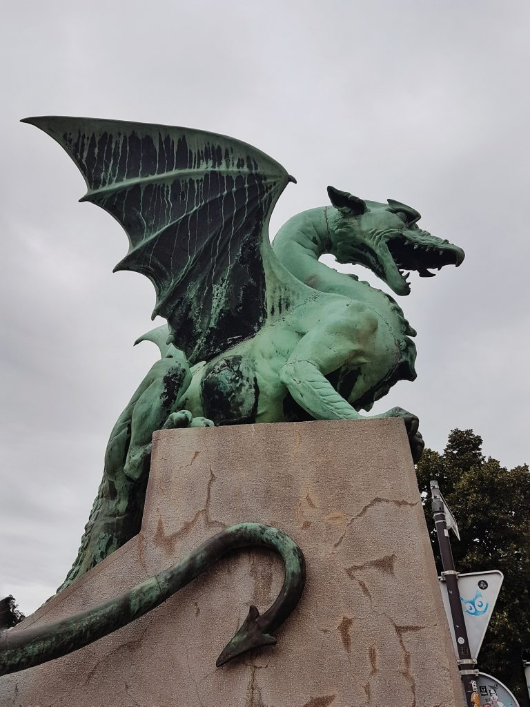 ponte dei draghi Lubiana