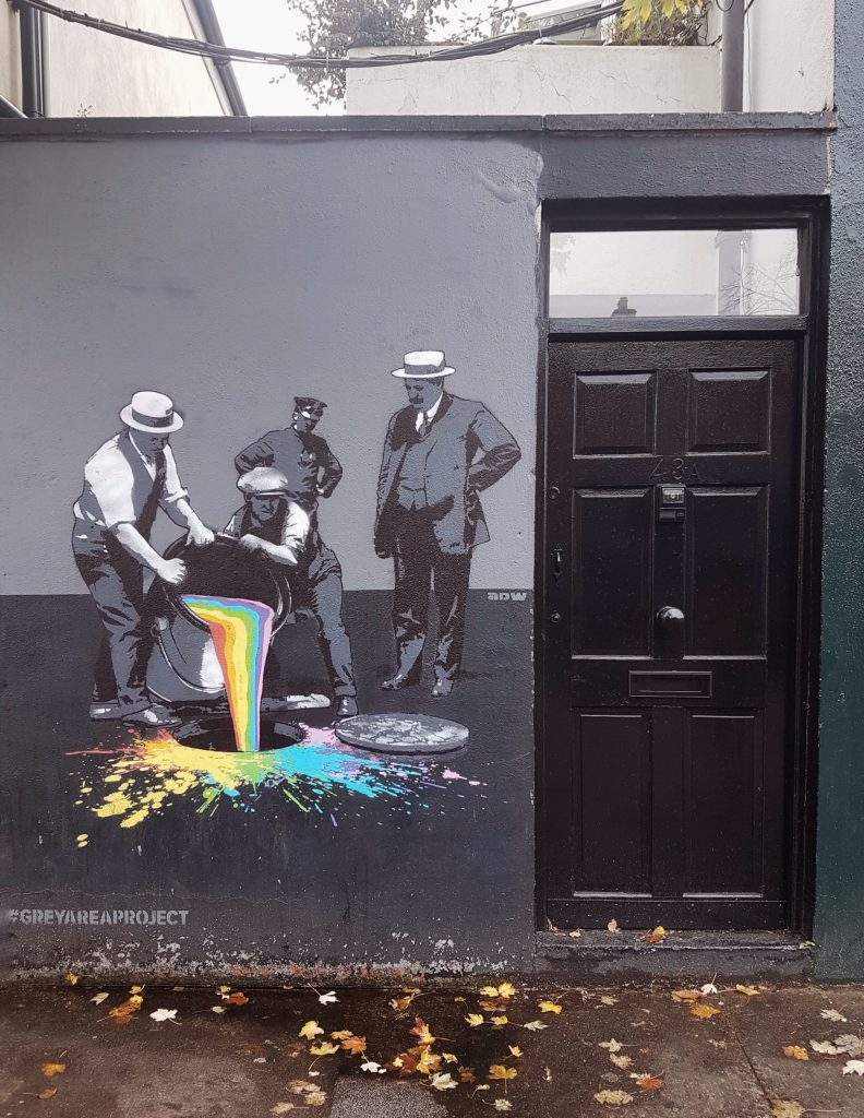 Portobello street art