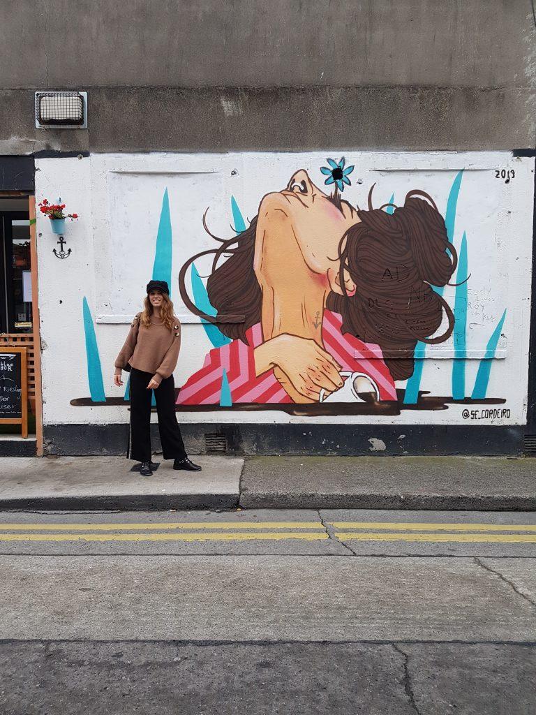 Liberties street art Dublino