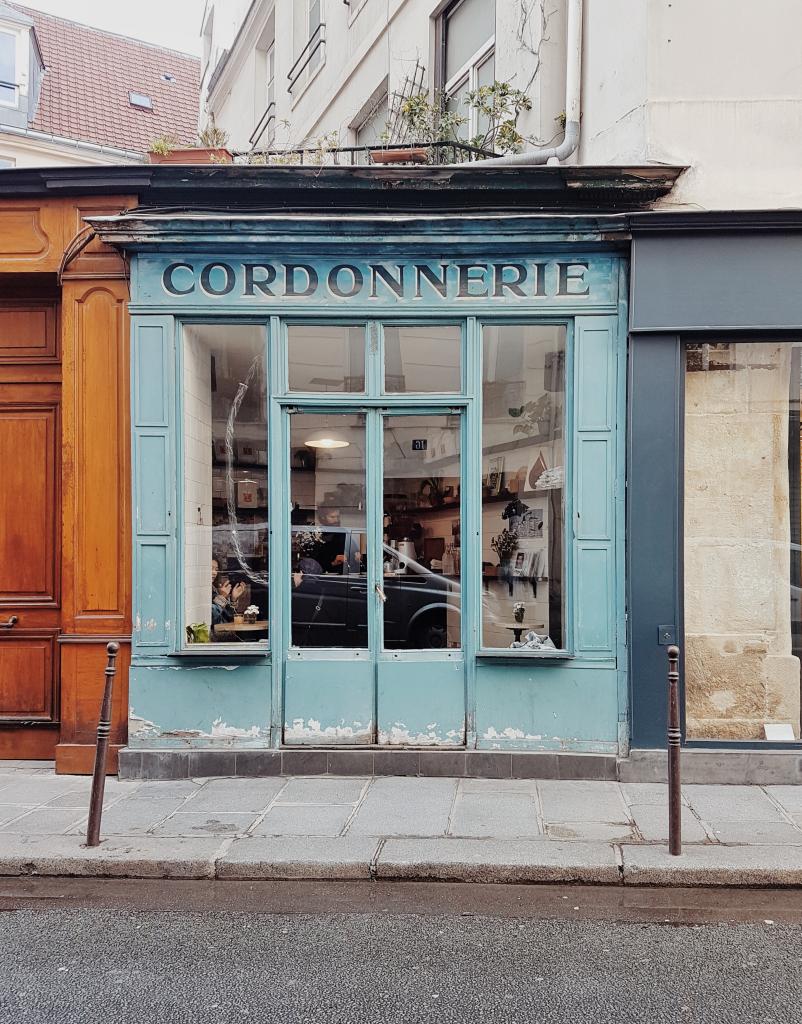 Boot cafè Parigi insolita