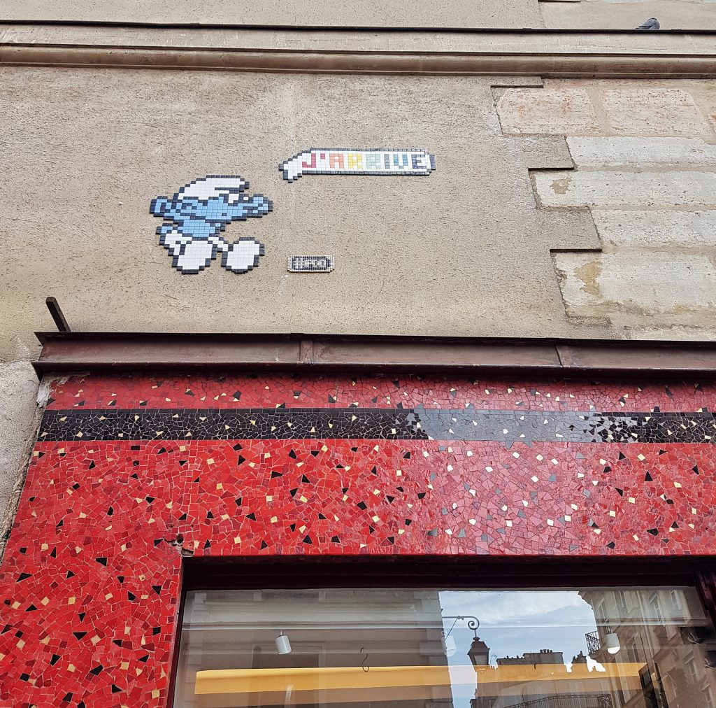 Space invaders Parigi