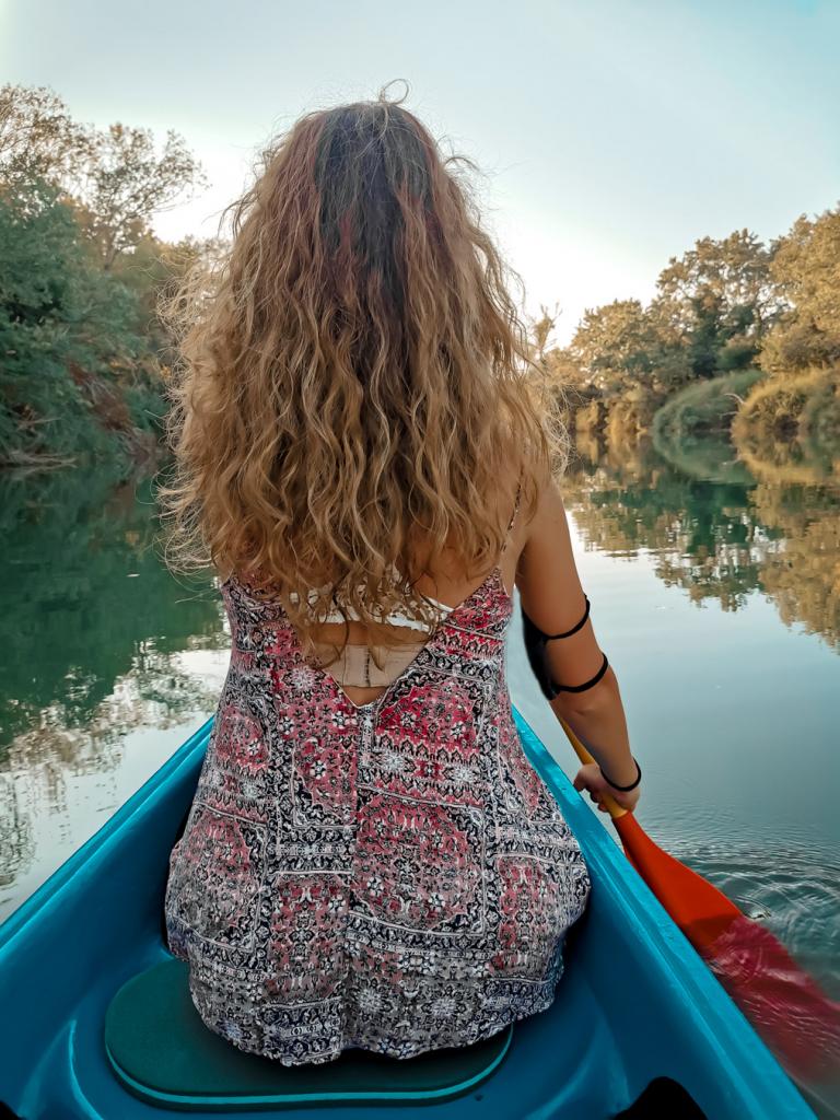 Maremma in canoa