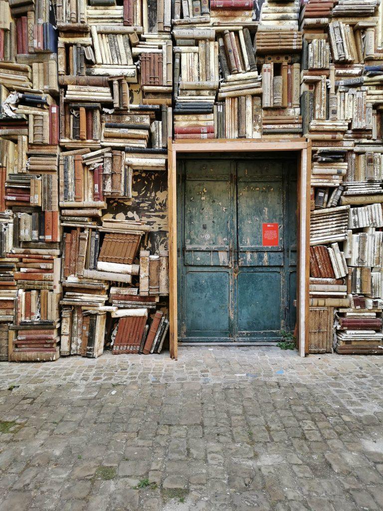 Pesaro parete di libri